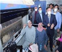 كامل الوزير لمسئولي السكة الحديد: لا تهاون في مستوى النظافة بالقطارات
