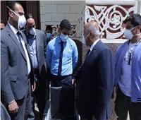 بالصور ..وزير النقل يتفقد محطة مصر للاطمئنان على عدم تكدس الركاب