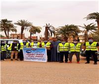 مستقبل وطن ينظم حملة تعقيم وتوعية ضد «كورونا» بمركز طهطا