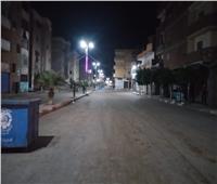 انتشار مكثف بشوارع دمنهور لمتابعة حظر التجول وضبط ٤ مخالفين للقرار