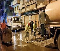 كورونا| تطهير وتعقيم شوارع البحيرة أثناء تنفيذ حظر التجوال