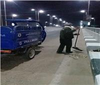 مجلس مدينة الأقصر يواصل حملاتالتعقيم والنظافة بأحياء المدينة