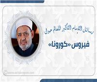 انفوجراف| رسائل الإمام الأكبر للعالم حول فيروس «كورونا»
