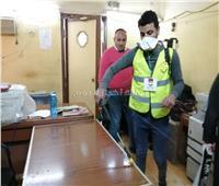 صور| حملة لتعقيم وتطهير شوارع المحلة وسمنود
