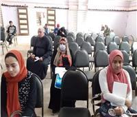 محافـظ المنوفية يتابع توزيع شرائح «التابلت» بالإدارات التعليمية