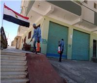 صور.. شباب مدينة القصير ينظمون حملات تعقيم للمنشآت العامة والشوارع