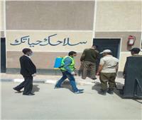 حملات شبابية لتطهير بعض المنشآت الشرطية ومستشفى قوات الأمنبأسيوط