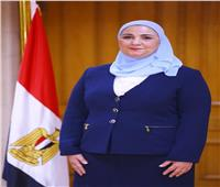وزيرة التضامن تتابع استعدادات صرف المعاشات