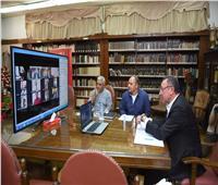 الخطيب من خلال اجتماع الأهلي بتقنية الفيديو: نمر بفترة صعبة على الجميع