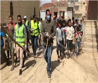 صور| تواصل تعقيم وتطهير المؤسسات وتجهيز 39 مدرسة لصرف المعاشات بالفيوم