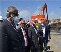 كامل الوزير يتابع أعمال مشروع المحطة متعددة الأغراض بميناء الإسكندرية