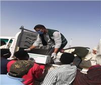 مصر الخير توزع 50 كرتونة إغاثة عاجلة للسودانيين العالقينفى كمين السباعية بأسوان