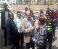 محافظ أسوان يشهد إنطلاق مشروع إحلال وتجديد شبكات مياه الشرب والصرف الصحي