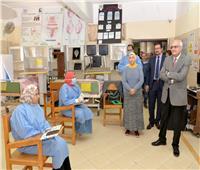 جامعة المنصورة تواصل تدريب الكوادر الصحيةلمواجهة انتشار فيروس كورونا