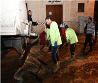 استمرارحملات نظافة وتعقيم شوارع مدن ومراكز البحيرة