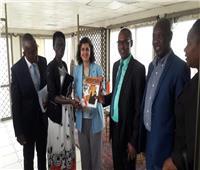 سفيرة مصر في بوجمبورا تلتقي وفد المفوضية الوطنية البوروندية لحقوق الإنسان
