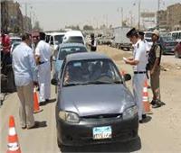 المرور تواصل حملاتها على الطرق السريعة وتضبط 1314 مخالفة متنوعة