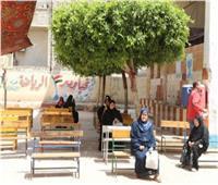 صور| 20 مدرسة لتسليم شرائح التابلت و45 أخرى تصرف المعاشات بالجيزة