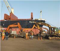 79 سفينة بضائع تصل ميناء الإسكندرية