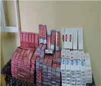 ضبط 4 آلاف علبة سجائر مهربه بدمياط