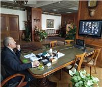 وزير الري يجتمع بوكلاء الوزارة في جميع المحافظات