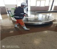 محافظة بورسعيد تقوم بتطهير المطار
