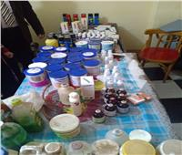 ضبط أدوية وألبان أطفال ومستحضرات تجميل منتهية الصلاحية بالبحيرة
