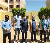 أبوجبل يشارك «الشباب والرياضة» في حملة التطهير للوقاية من كرونا
