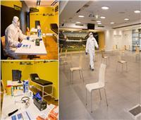 صور| ملعب بورسيا دورتموند يتحول لمستشفى لمواجهة كورونا