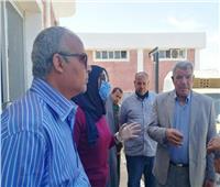 متابعة أعمال الرصف ورفع كفاءة الكهرباء بكفر أبو ذكرى بالقليوبية