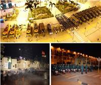 القوات المسلحة تنفذ عمليات التعقيم والتطهير الوقائي لميدان رمسيس ومحطة مصر