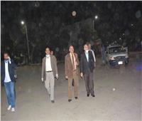محافظ المنيا يتابع التزام المواطنين بقرارات الحظر