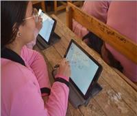 3700 طالب بالصف الأول الثانوي يؤدون الامتحان بالسويس