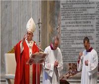 البابا فرنسيس يترأس صلاة قداس أحد الشعانين