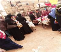 أمسك مخالفة| زحام المواطنين في أسواق مدينة السلام