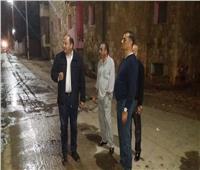 صور.. السكرتير العام لمحافظة الاسماعيلية يتابع أعمال التعقيم والتطهير بحى ثالث