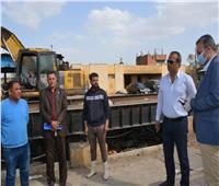 خطة لتطوير وصيانة مصنع تدوير القمامة بالمحلة