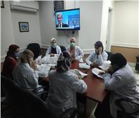أطباءوصيادلةهيئةالرعايةالصحيةيسلمونالعلاجلمرضىالأورامفيمنازلهم