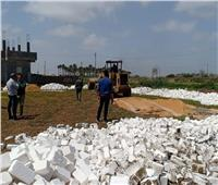 إزالة 189 حالة تعدى على الأراضى الزراعية في مارس بالبحيرة