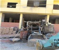 إجراءات قانونية ضد أصحاب 5 مباني مخالفة بمطروح