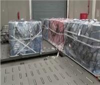 إحباط تهريب أقمشة لتصنيع الكمامات عبر ميناء القاهرة الجوي