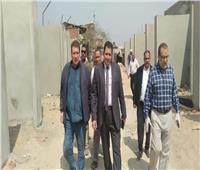 نائب محافظ القاهرة يتفقد أعمال إنشاء سواق داير الناحية بالزاوية الحمراء