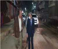 محافظ المنيا يتابع اعمال الرش والتطهير بالشوارع وقت الحظر