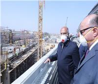 وزير النقل يتفقد مواقع تنفيذ المرحلة الرابعة للخط الثالث للمترو
