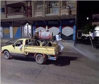حملات التطهير والتعقيم مستمرةبشوارع وميادين القنطرة غرب