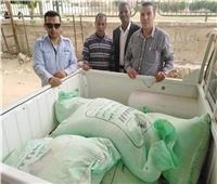 ضبط 250 كيلو دقيق مدعم وتحرير 8 محاضر تموينية في الإسماعيلية