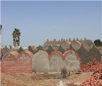 بالصور  محافظ المنوفية يعلن إزالة 20 مقبرة مخالفة