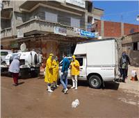 سيارات بميكرفونات تجوب شوارع قرىكفر الدوار لحث المواطنين على تجنب أماكن التجمعات