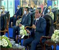 فيديو| الرئيس السيسي: لا مساس بمرتباتالموظفين