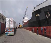 تصدير 64 ألف طن بضائع عبر ميناء الإسكندرية إلى الخارج